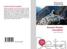 Portada del libro de Amman Theater Inscription