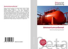 Borítókép a  Ammoniumcarbonat - hoz