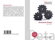 Ammann Group kitap kapağı