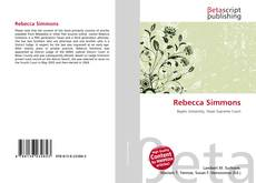 Bookcover of Rebecca Simmons