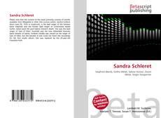Couverture de Sandra Schleret