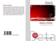 Bookcover of Rebecca Walker
