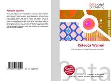 Bookcover of Rebecca Warren