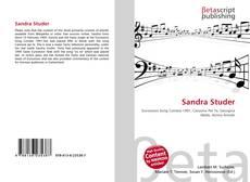 Bookcover of Sandra Studer