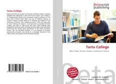 Bookcover of Tartu College
