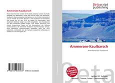 Bookcover of Ammersee-Kaulbarsch