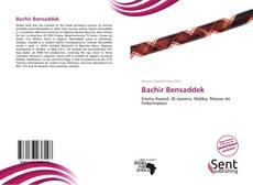 Bachir Bensaddek kitap kapağı