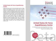 Borítókép a  United States Air Force Expeditionary Center - hoz