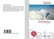 Bookcover of Ammertenhorn
