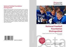 Обложка National Football Foundation Distinguished