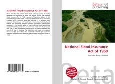 Buchcover von National Flood Insurance Act of 1968
