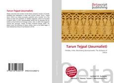 Bookcover of Tarun Tejpal (Journalist)