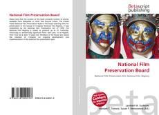 Bookcover of National Film Preservation Board