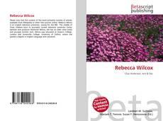 Couverture de Rebecca Wilcox