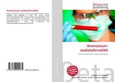 Capa do livro de Ammonium-oxalatoferrat(III)