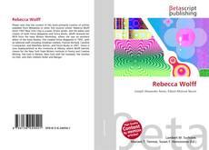 Rebecca Wolff的封面