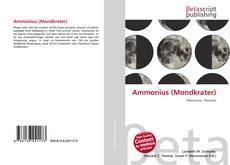 Couverture de Ammonius (Mondkrater)