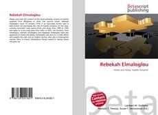 Bookcover of Rebekah Elmaloglou
