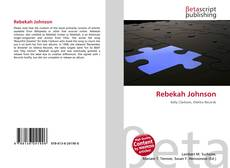Portada del libro de Rebekah Johnson
