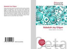 Bookcover of Rebekah Joy Gilgan
