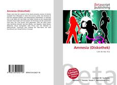 Bookcover of Amnesia (Diskothek)