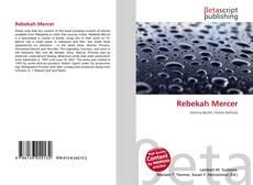 Bookcover of Rebekah Mercer
