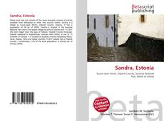 Bookcover of Sandra, Estonia