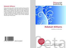 Portada del libro de Rebekah Williams