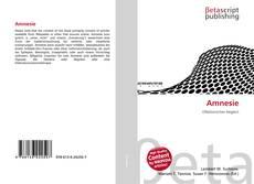 Bookcover of Amnesie