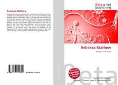 Buchcover von Rebekka Mathew