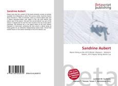 Capa do livro de Sandrine Aubert