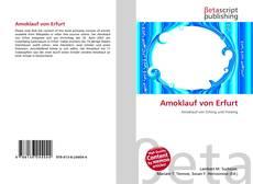 Portada del libro de Amoklauf von Erfurt
