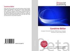 Capa do livro de Sandrine Bélier