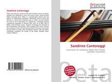 Capa do livro de Sandrine Cantoreggi