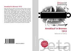 Capa do livro de Amoklauf in Bremen 1913