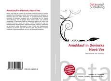 Buchcover von Amoklauf in Devínska Nová Ves