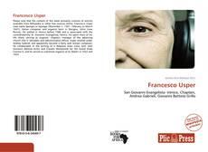 Buchcover von Francesco Usper