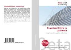 Bookcover of Organized Crime in California
