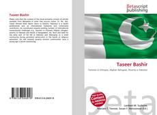 Capa do livro de Taseer Bashir