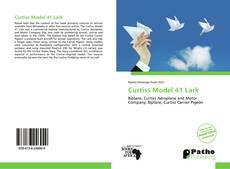 Portada del libro de Curtiss Model 41 Lark