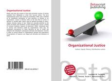 Bookcover of Organizational Justice