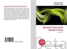Bookcover of Spanish Communist Workers' Party