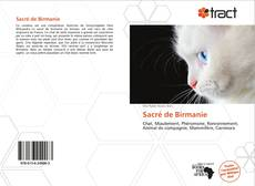 Bookcover of Sacré de Birmanie
