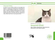 Buchcover von Savannah (Chat)
