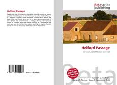 Bookcover of Helford Passage