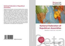 Capa do livro de National Federation of Republican Assemblies
