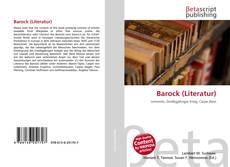 Bookcover of Barock (Literatur)