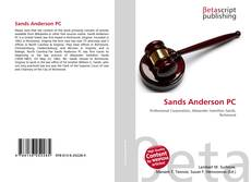 Bookcover of Sands Anderson PC