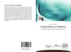 Bookcover of Content Discovery Platform