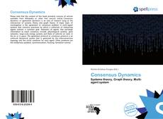 Bookcover of Consensus Dynamics